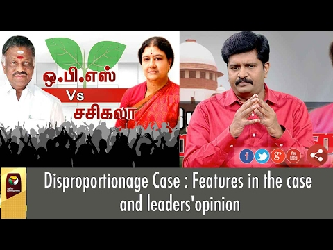 Major Facts on Disproportionate Case Against VK Sasikala & Late J. Jayalalithaa