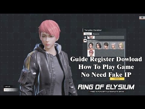 Ring of Elysium (Europa) - Guide Register Dowload How To Play Game No Need Fake IP English Gameplay