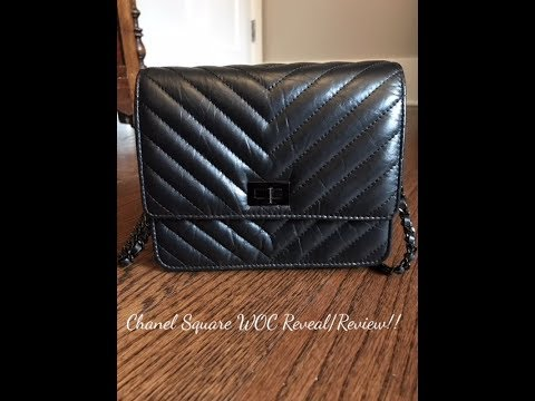 863fe3e1962c Chanel Square WOC Reveal/Review!! - YouTube