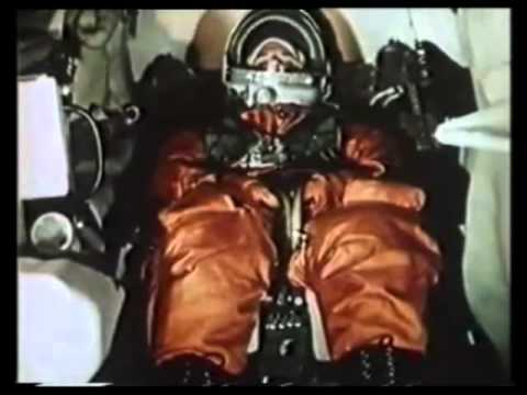 Yuri Gagarin First Orbit and space flight around the Earth, April 12th 1961
