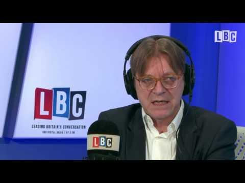 "Guy Verhofstadt says Nigel Farage is a ""Waste of Money"" so he calls in."
