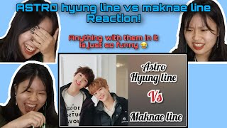 ASTRO (아스트로) Hyung Line vs Maknae Line First Time Reaction! …