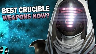 What Are The Best Weapons For Crucible?