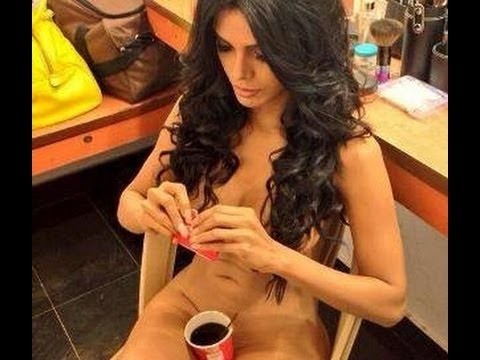 sherlyn chopra wears nothing but a cup of coffee nude in