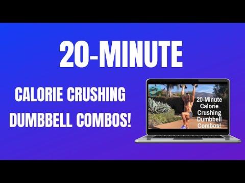 20-MINUTE CALORIE-CRUSHING DUMBBELL COMBOS! | BJ Gaddour Men's Health MetaShred