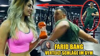 FARID BANG VERTEILT SCHLÄGE IM GYM 😱 | Live Reaction 😱 - Leon Lovelock