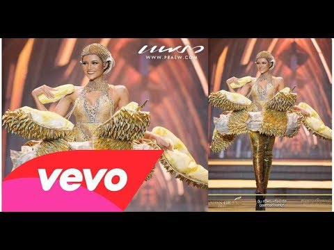 Miss Grand Thailand 2017 - national costume (FULL Show HD)