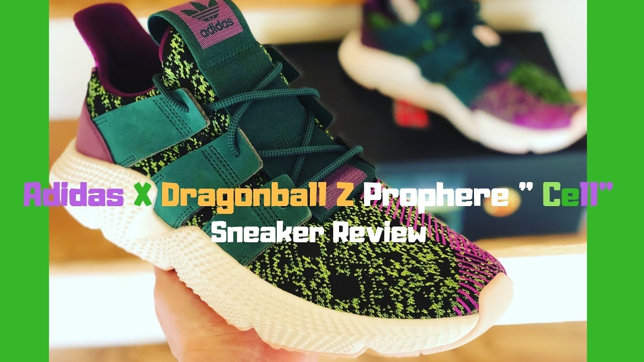 e4ac69f2b09 Adidas X Dragonball Z Prophere Cell Sneaker Review - YouTube