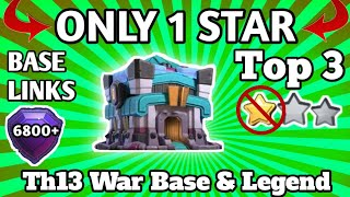 """""""Top 3"""" BEST Th13 WAR Base With LINKS 
