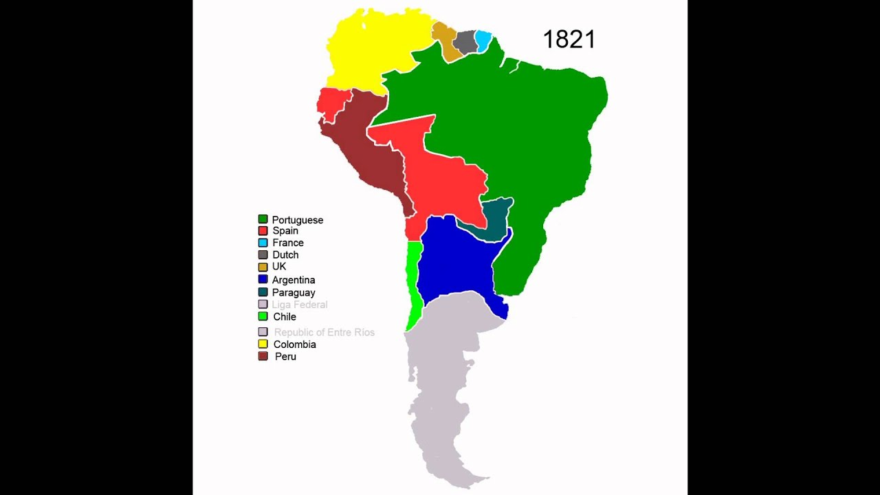 Colonial History of South America  YouTube