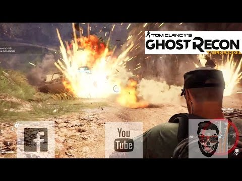 KillerVEE83 Gaming highlights with ShyGhost- Tom Clancys Ghost Recon Wildlands