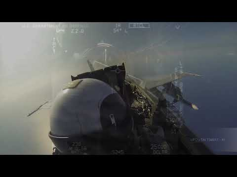 ✅New Declassified Pentagon Footage F-18 Jet chasing The UFO. (Video 2)