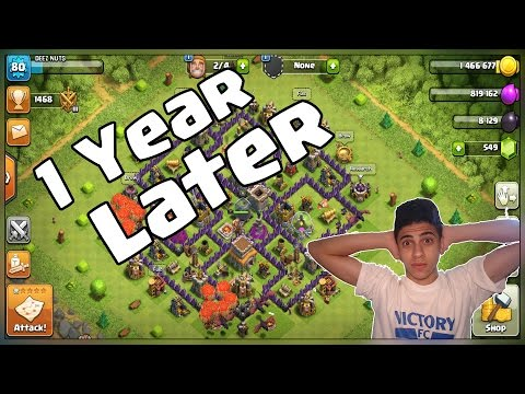 Thumbnail: What Happens When You Log Into A Dead Base After 1 YEAR - Clash Of Clans 1st Time Looking At My Base