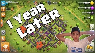 What Happens When You Log Into A Dead Base After 1 YEAR - Clash Of Clans 1st Time Looking At My Base