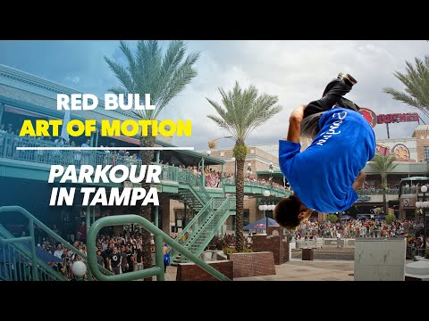 Parkour at it's finest - Red Bull Art Of Motion - Tampa, Florida