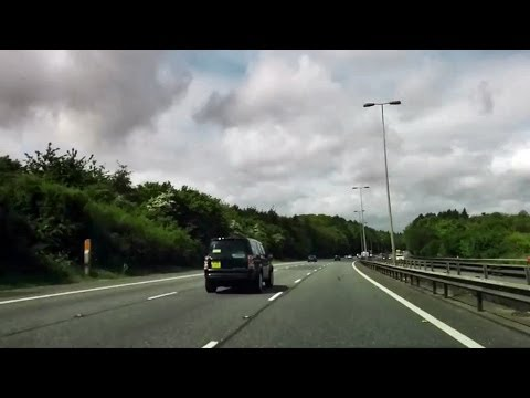 Driving in the UK - London to Oxford