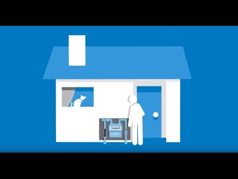 how to turn on gas supply to house