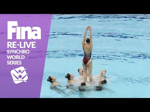 RE-LIVE | Day 3 - Tokyo | FINA Synchronised Swimming World Series 2017