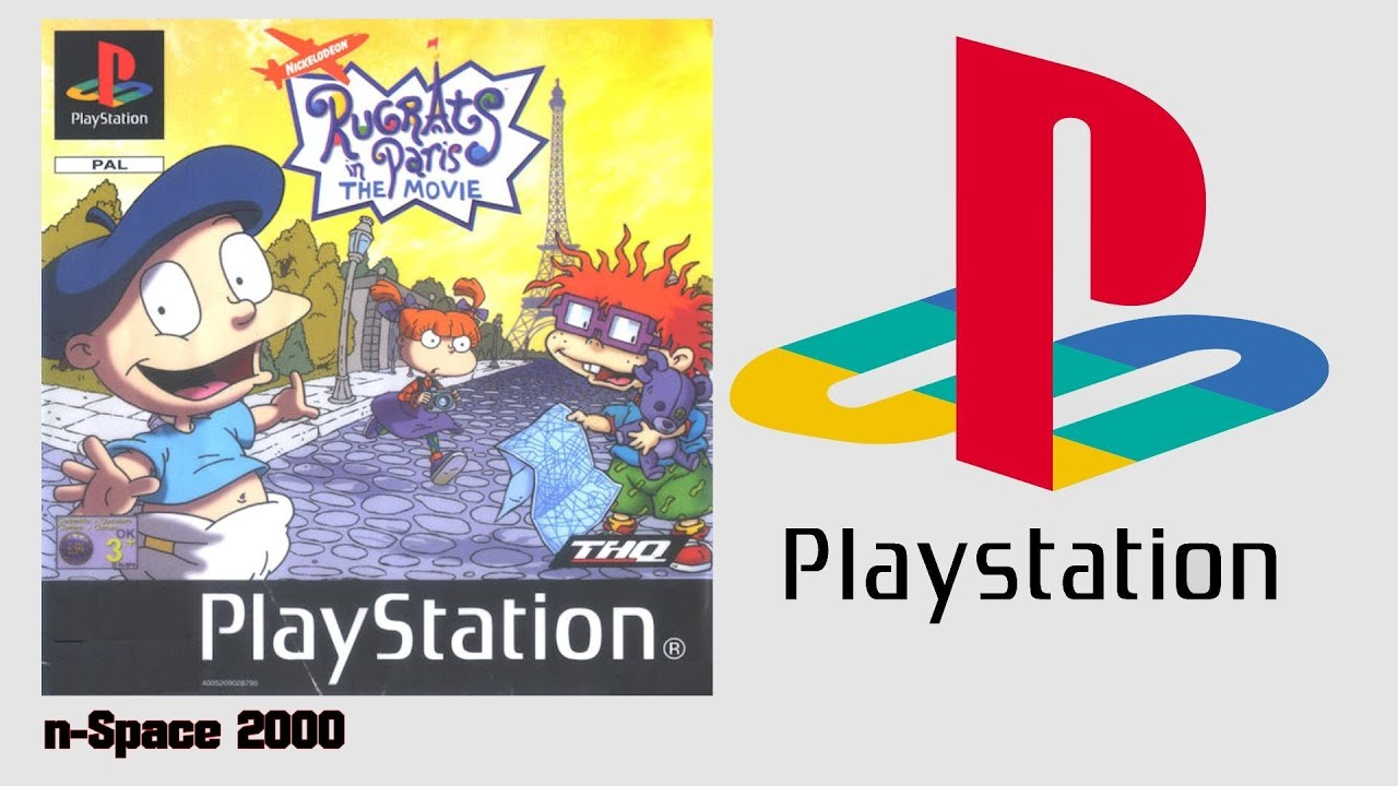 Rugrats In Paris The Movie Ps12001 Intro Gameplay Youtube