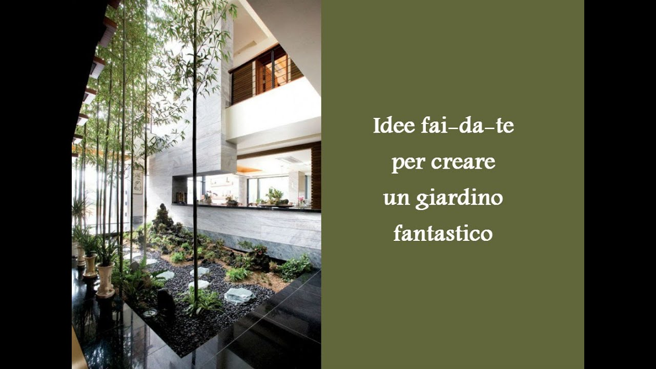 Idee fai da te per creare un giardino fantastico youtube for Panchine fai da te