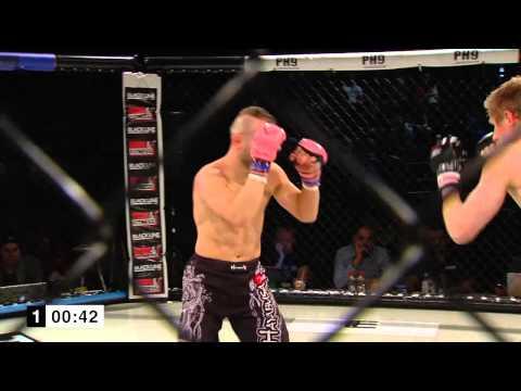 65,8kg Martin Nano Pancrase Gym/Sweden Top Team vs Johan Nilsson Hilti MMA
