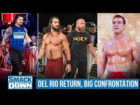 Del Rio RETURN, Triple H, Roman, Seth, INVASION, Why Lesnar/Cole/Fiend WWE Smackdown Highlights