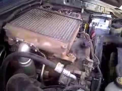 Toyota Hilux 2012 30 D4D starter motor problems - YouTube