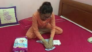Cách sử dụng quần bỉm kèm miếng lót sơ sinh