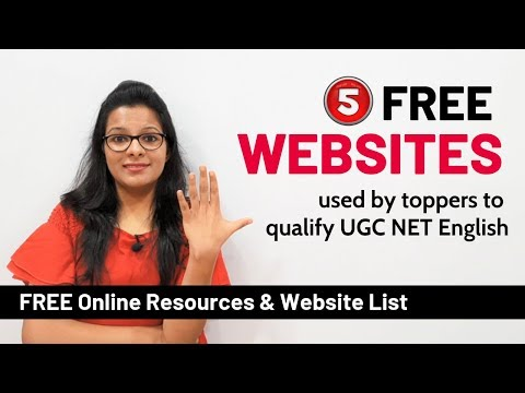 Best Websites & Online Resources that can help you crack UGC NET English