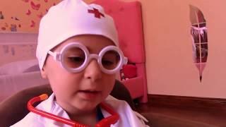 Кукла заболела, ДОКТОР лечит БЕБИ БОРН, doctor visit baby born