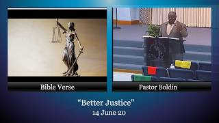 "Part 2, ""Better Justice"", 14 June 20"