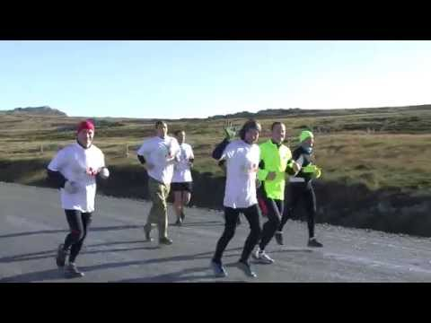 Charity run across the Falkland Islands