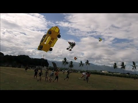 Kite Festival - (Tanjay City  2015 - 2016) - GoPro Session Hero4