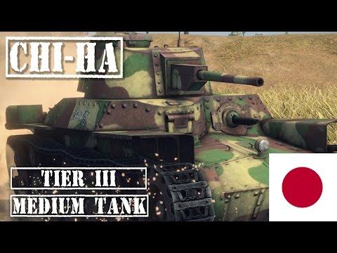 Chi-Ha Tank Review - Japanese Tier 3 Medium  || WOT Blitz ||
