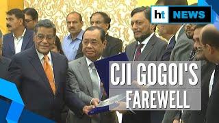 CJI Ranjan Gogoi given farewell at SC premise, to retire on Nov 17