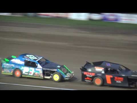 IMCA Sport Mod feature Independence Motor Speedway 8/13/16