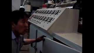 Линия грануляции каскадного типа. Экструдер, линия грануляции, гранулятор, переработка полимеров.(, 2013-03-26T09:08:40.000Z)