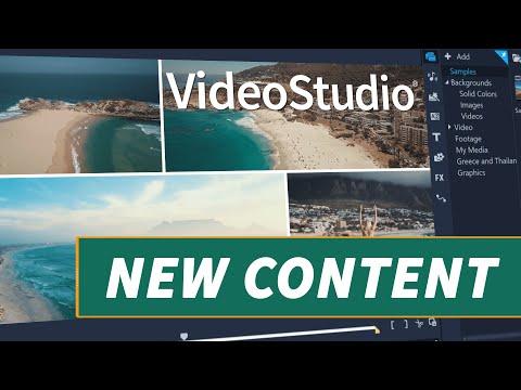 VideoStudio 2020 - New Content Added!