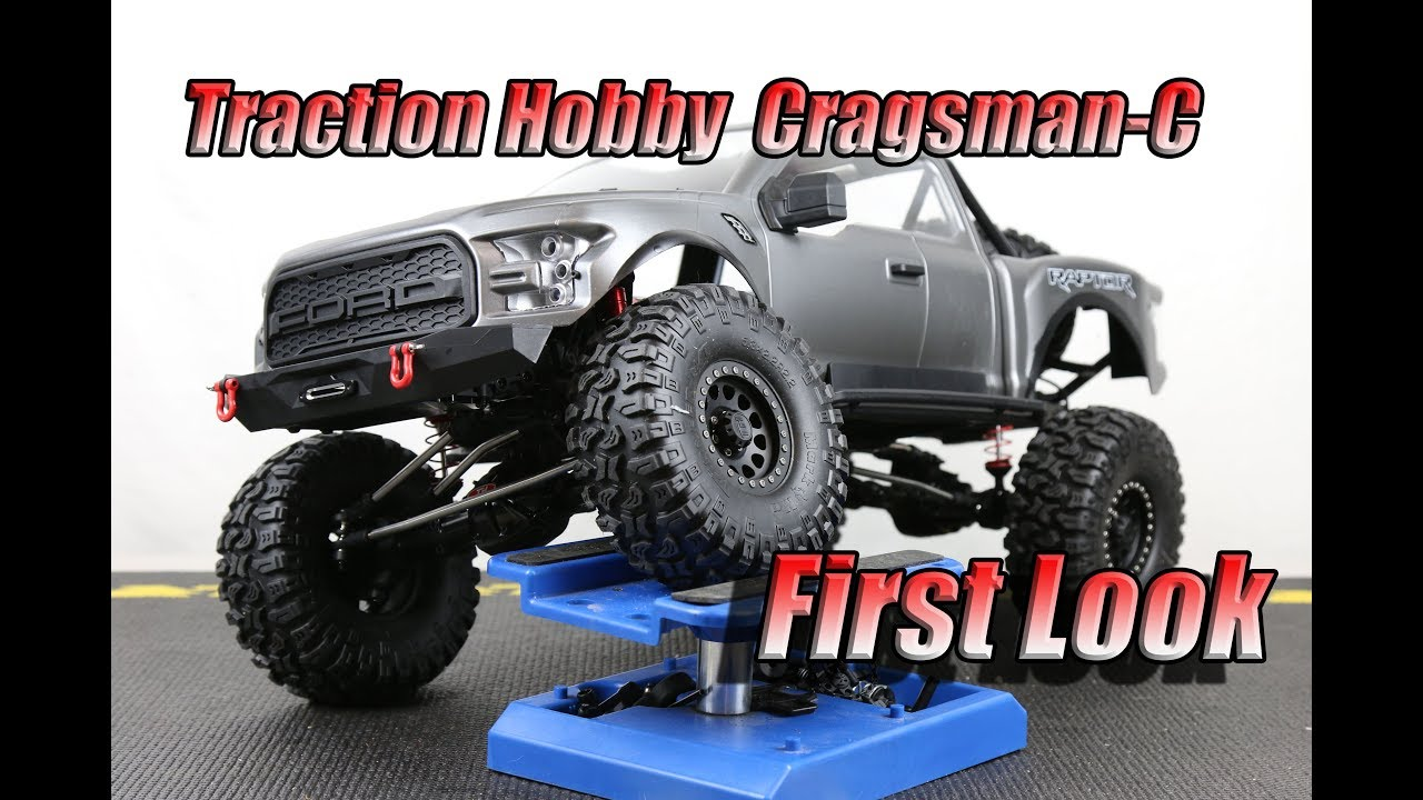 Traction Hobby Cragsman C Ford Raptor First Look Youtube