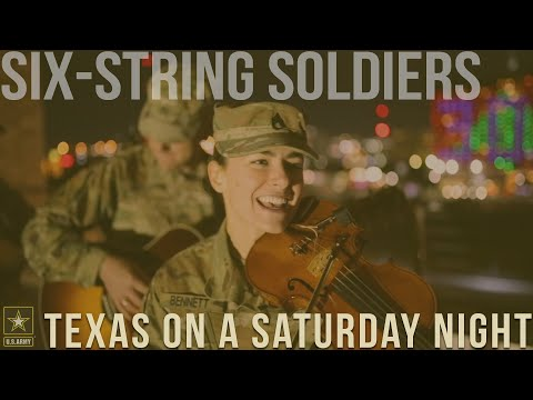 Texas On A Saturday Night [Willie Nelson] Six-String Soldiers Cover