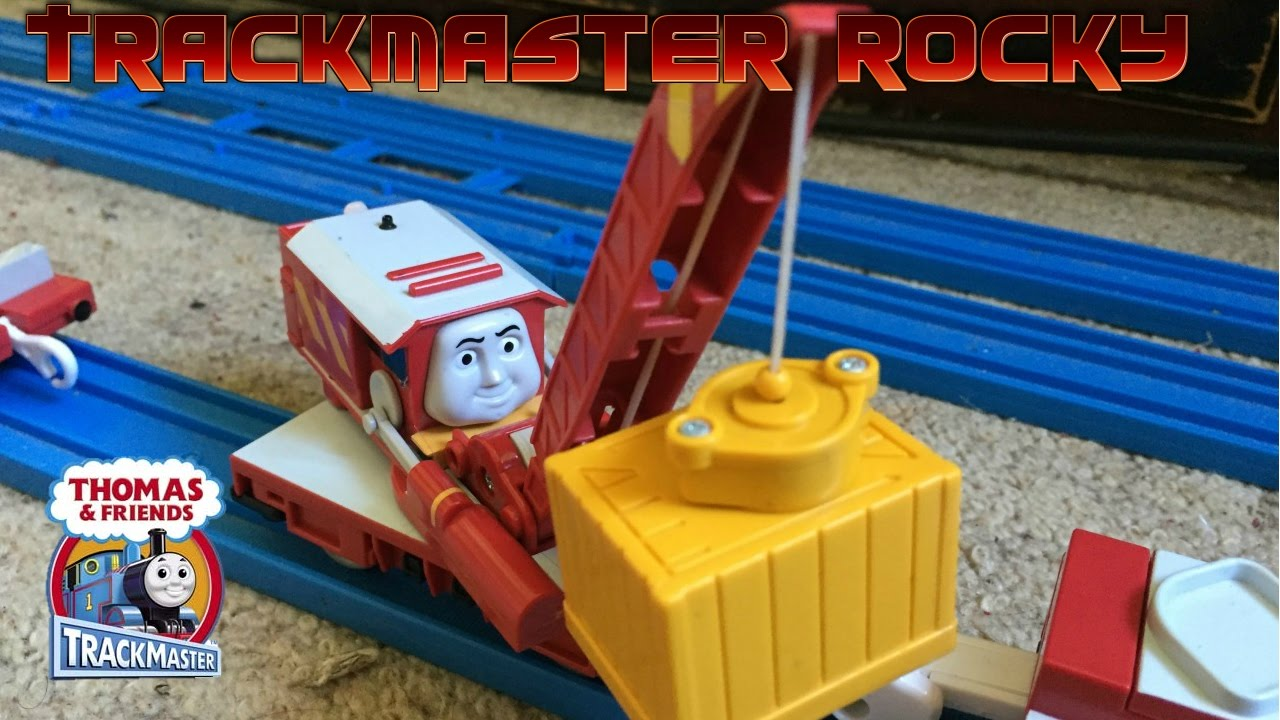 Rare Trackmaster Motorised Rocky Review Demonstration Run