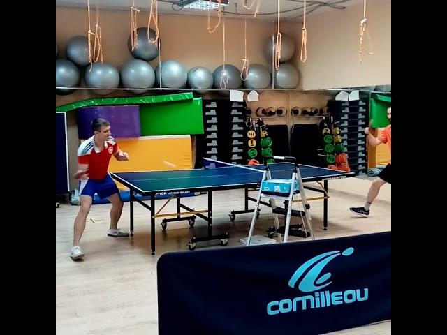 Персональная тренировка по настольному теннису в Екатеринбурге