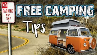 VAN LIFE TIPS // Best Places to Sleep For Free