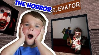 DON'T PLAY THIS GAME ALONE ! | ROBLOX THE HORROR ELEVATOR