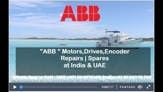 ABB | ABB Robotics Servo Motor Repair INDIA, UAE - Encoder/ Resolver Align, Adjust,Install, HOW