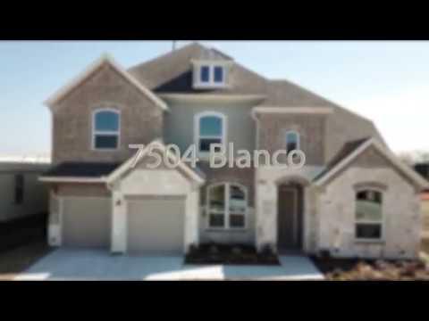 7504 Blanco Ashton Woods Youtube