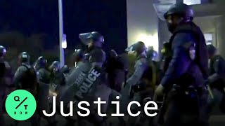Police Declare Unlawful Assembly for Louisville Protesters Before Curfew