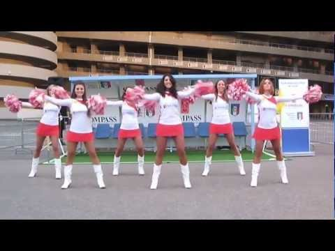 Hello - Compass Cheerleaders - Match Italia vs Danimarca 16 Ottobre 2012
