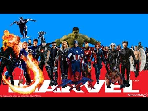 ALL MARVEL SUPERHEROES - Marvel Movies & Comics superhero Name