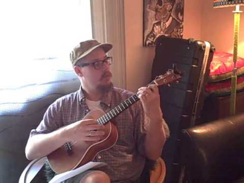 The Old Rugged Cross - Country Gospel Hymn on Baritone Ukulele